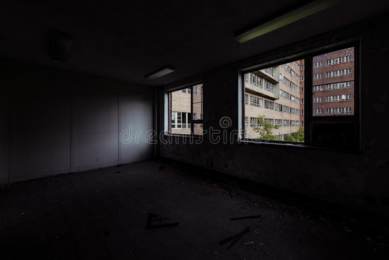 Northville Psychiatric Hospital - Northville, Michigan stock photography