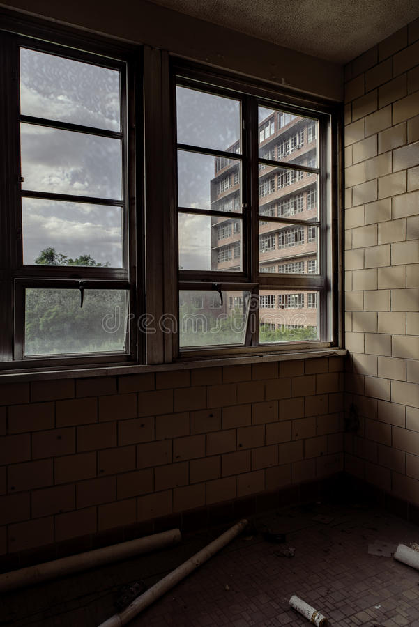 Northville Psychiatric Hospital - Northville, Michigan stock image