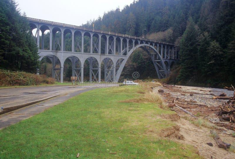 Northwest bridge royalty free stock images