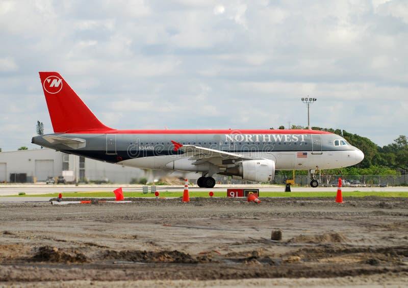 northwest passagerare för flygbolagstråle royaltyfri foto
