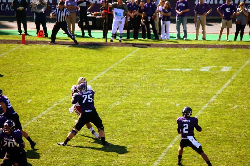 Northwestern Wildcats Football Editorial Photography