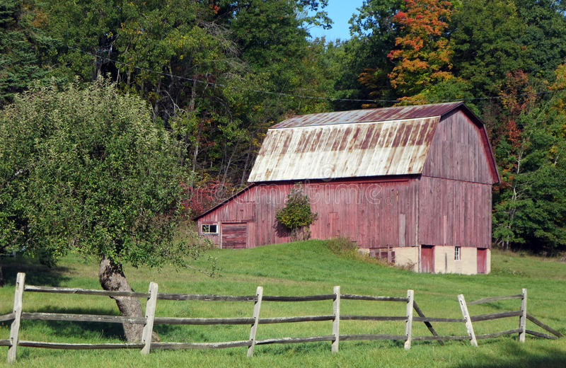 Northwoods Barn stock images