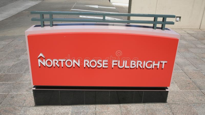 Norton Rose Fulbright stock afbeeldingen