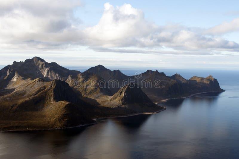 Noruega, Senja foto de archivo libre de regalías