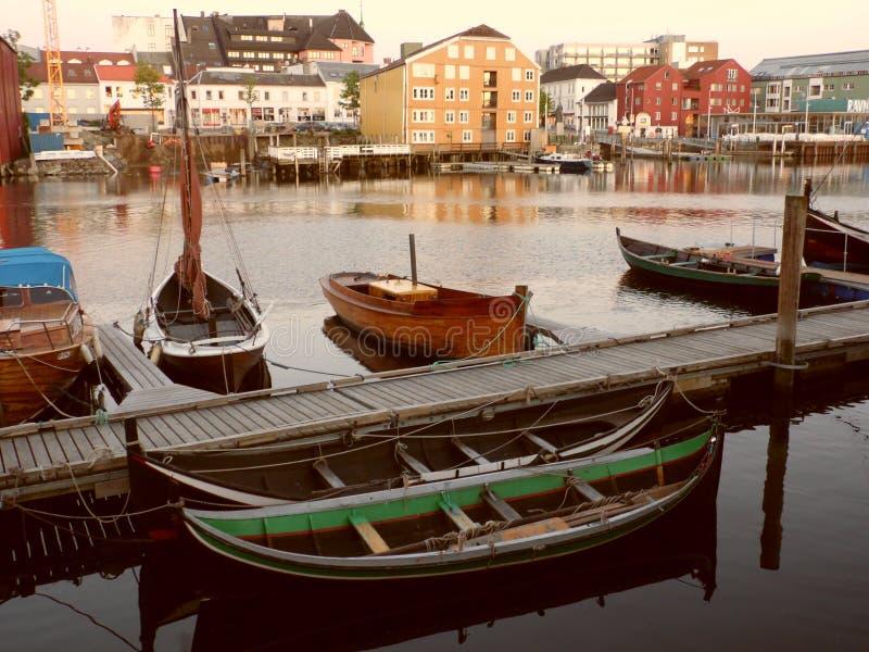 Noruega trondheim fotografia de stock royalty free
