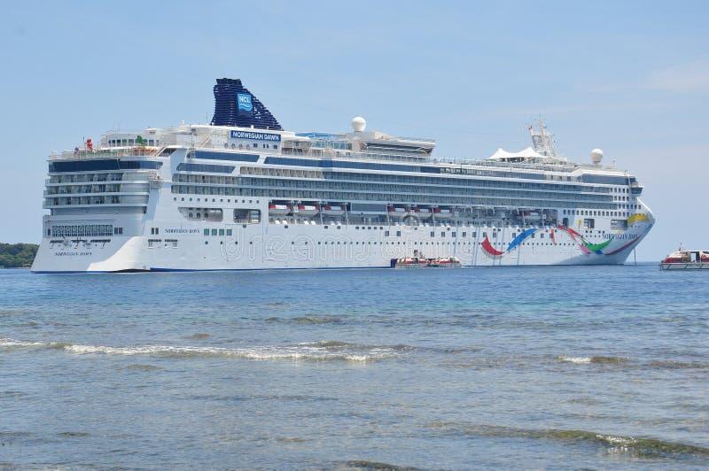 Noruego Dawn Cruise Ship fotos de archivo