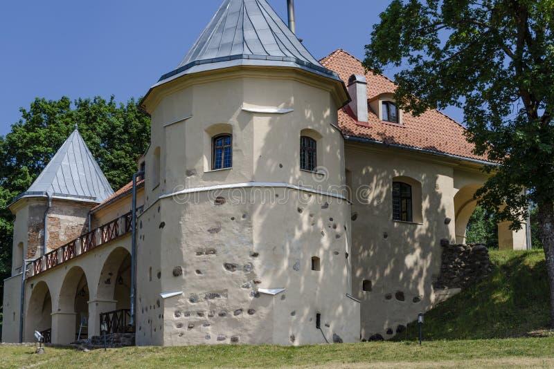 Norviliškės Castle is a Renaissance style castle in Norviliškės in Lithuania stock photography
