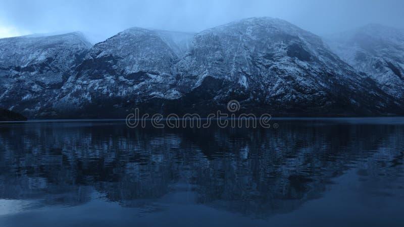 norway Acqua nera fredda immagini stock libere da diritti