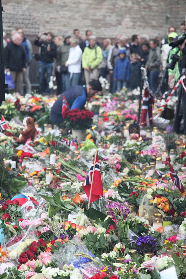 Download Norway after attacks editorial stock image. Image of crime - 20449254