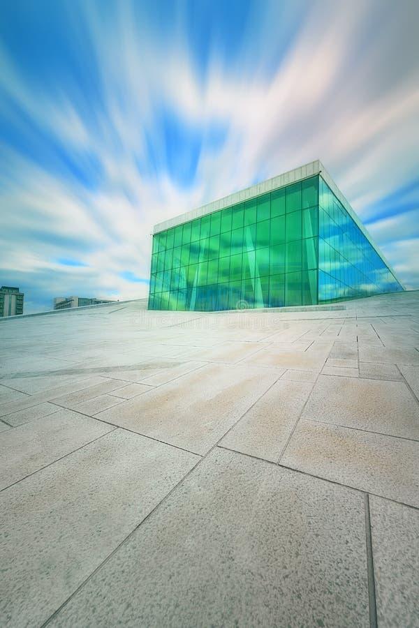 norway domowa opera Oslo fotografia royalty free