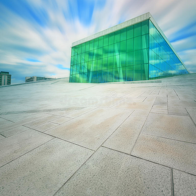 norway domowa opera Oslo fotografia stock