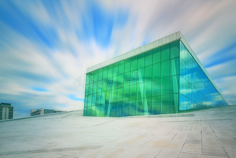norway domowa opera Oslo zdjęcie royalty free