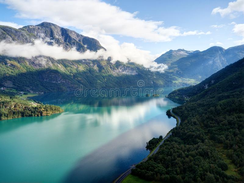 Norway Fjord royalty free stock image