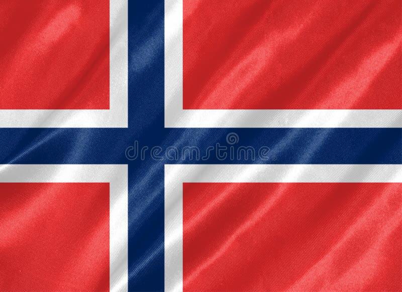 Norway Flag royalty free illustration