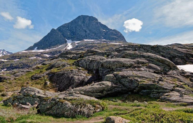 norway Hausse par le beau Rauma photo libre de droits