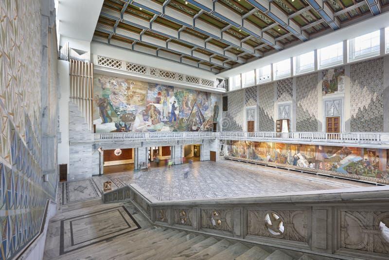 norway Intérieur d'hôtel de ville d'Oslo Radhus Récompense Nobel de paix photo libre de droits