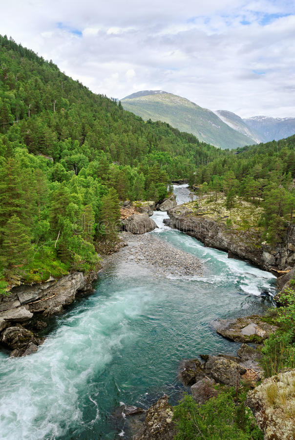Norway landscape. royalty free stock photography