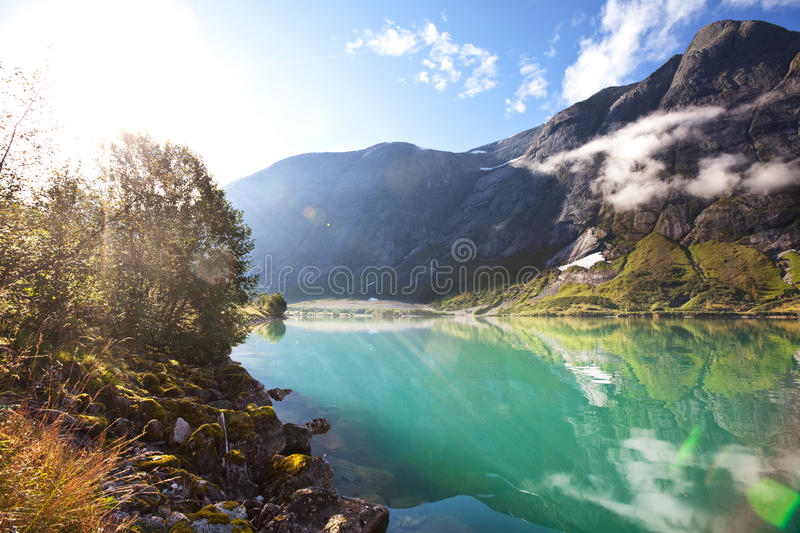 Norway Landscapes Stock Photography