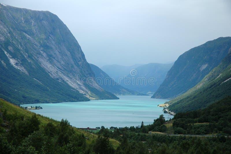 norway landskap royaltyfria foton