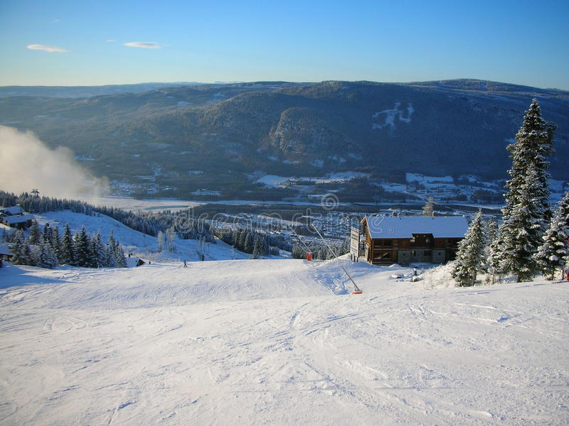 Norway. Lillehammer. stock photo