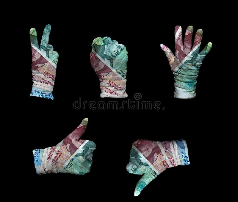Download Norway money gloves stock image. Image of background - 26624985