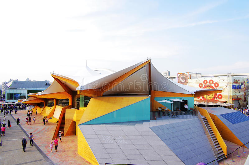 Norway Pavilion in Expo2010 Shanghai China stock photography