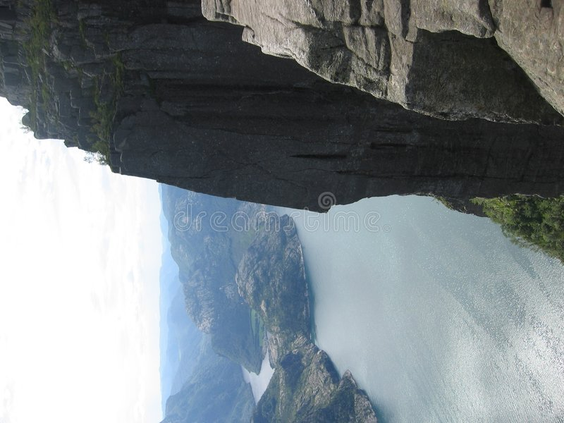 Free Norway - Preikestolen - Fjord Stock Image - 335571