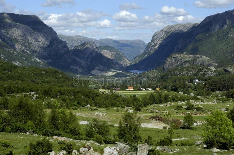 Norway, Scandinavian mountains royalty free stock photo