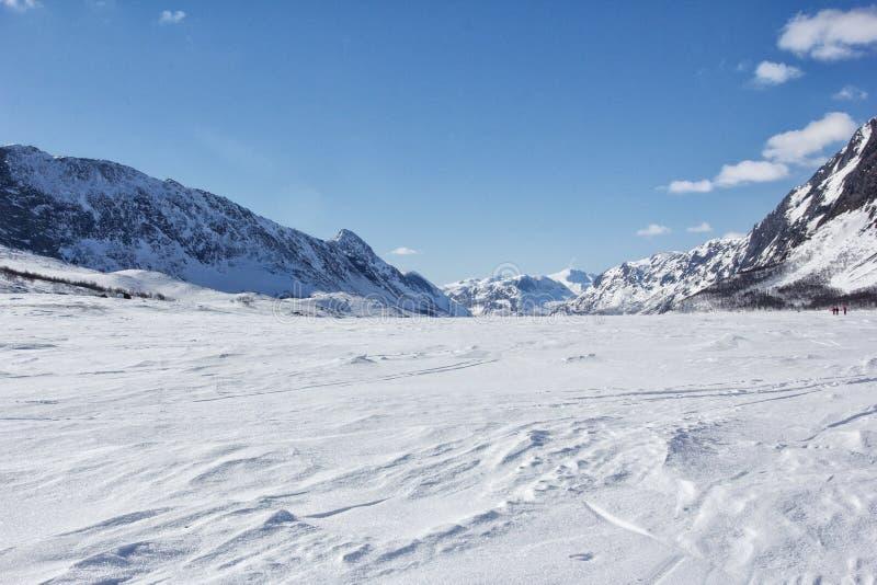 Norway in winter stock image