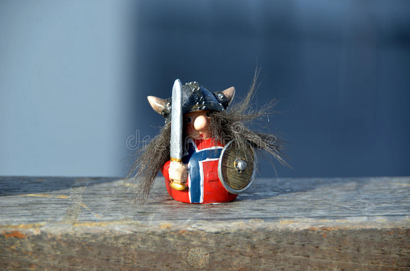 Norweg Viking obrazy royalty free