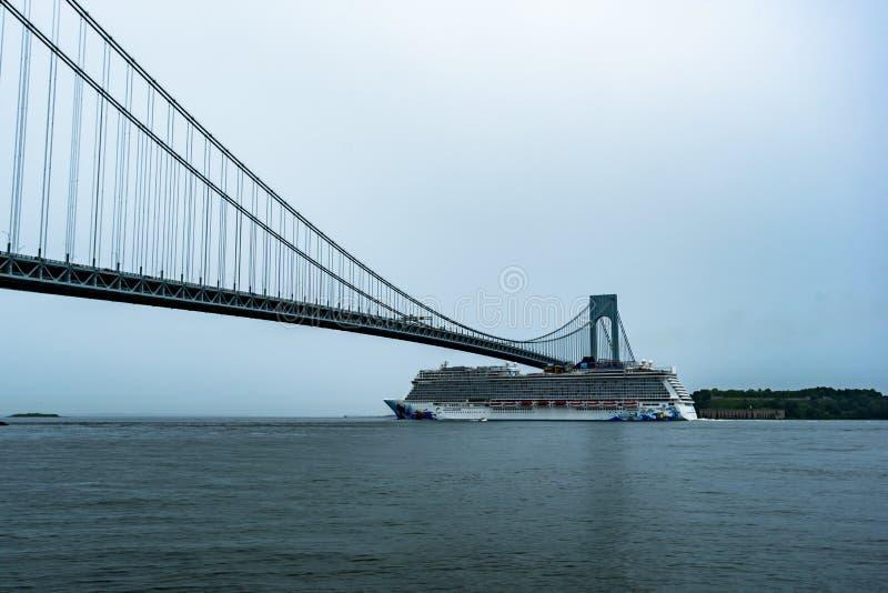 Norweg Wylotowy Opuszcza Miasto Nowy Jork obraz stock
