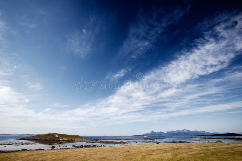 Norwegen-Landschaft stockfotos