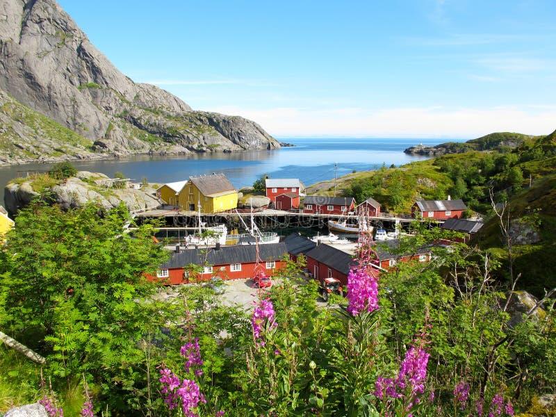 Norwegen-Landschaft lizenzfreies stockfoto