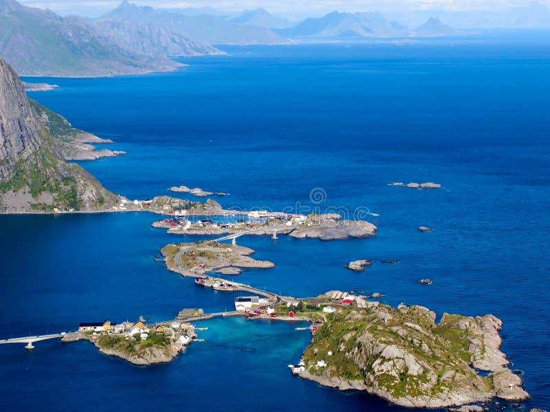 Norwegen-Landschaft stockbild