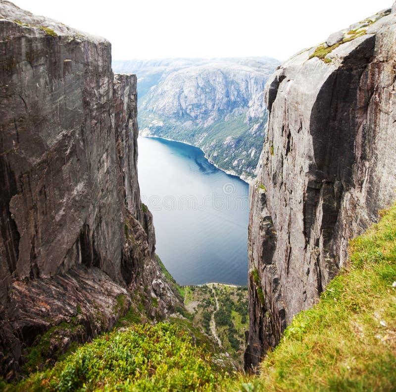 Norwegen-Landschaften lizenzfreie stockbilder