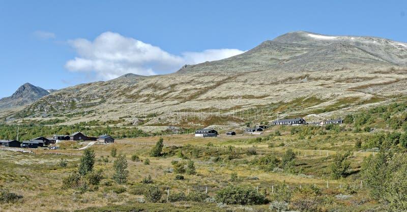 norwegen Sommerlandschaft in Rondane lizenzfreie stockfotos