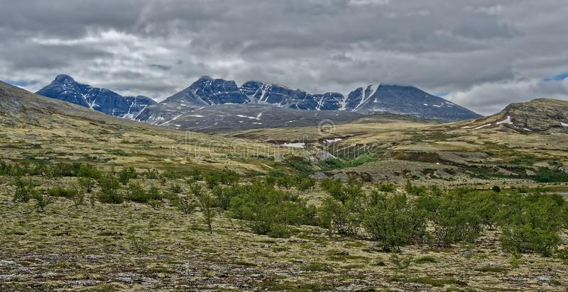 norwegen Sommerlandschaft in Rondane lizenzfreies stockbild