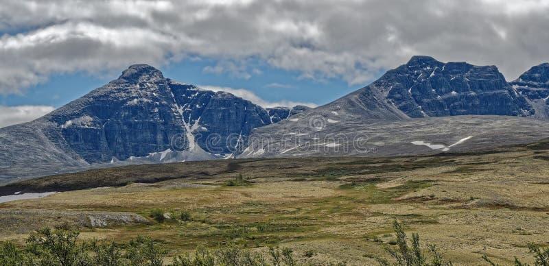 norwegen Sommerlandschaft in Rondane lizenzfreie stockbilder