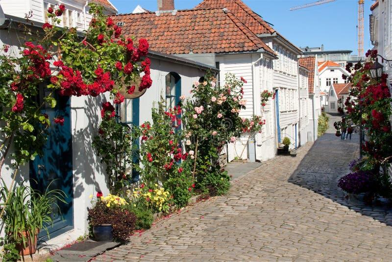 Norwegen Stavanger stockbild
