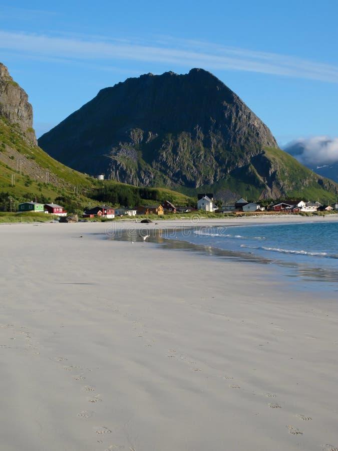 Norwegen-Strand lizenzfreie stockbilder