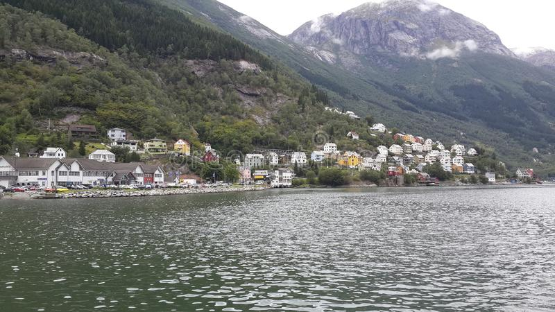 norwegen Wandern in den Bergen stockfoto
