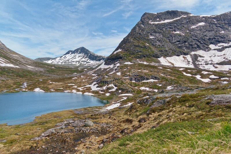 norwegen Wanderung durch das schöne Rauma lizenzfreie stockfotografie