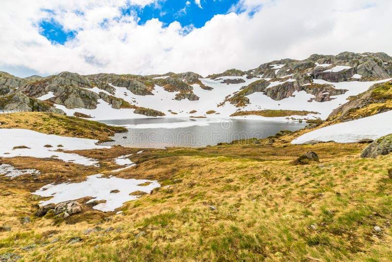 Norwegia góry krajobraz zdjęcie stock