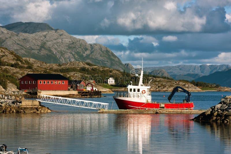Norwegia statek zdjęcia stock