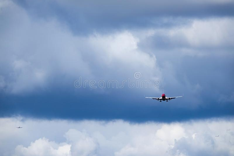 Norwegian Air Shuttle asa, Boeing 737 - 8JP photographie stock libre de droits