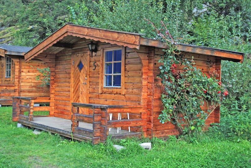 Download Norwegian cabin stock image. Image of rose, scandinavian - 9272769