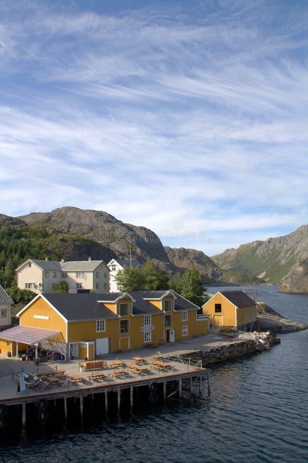 Download Norwegian fishing village stock photo. Image of lofoten - 20325690
