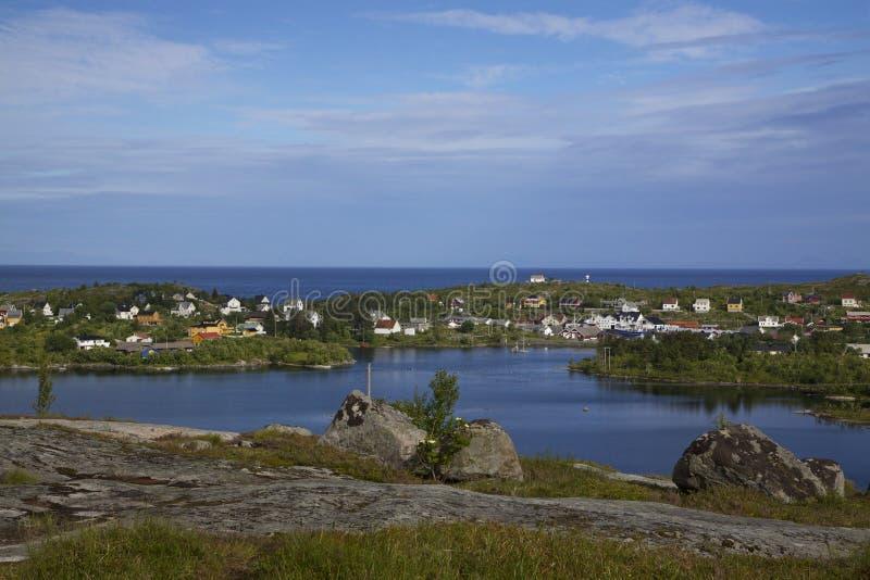 Download Norwegian fishing village stock image. Image of nature - 26597949
