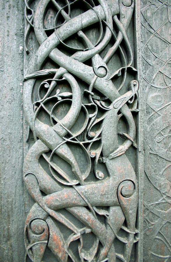 Norwegian folk art stock photos