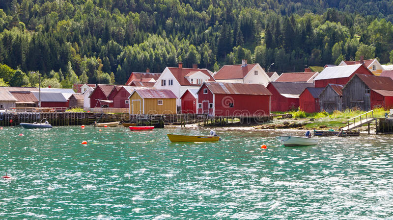 Download Norwegian houses stock photo. Image of border, norway - 23835410